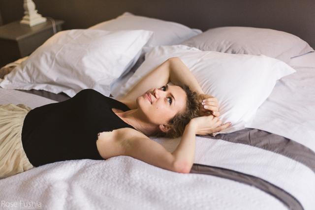 Shooting boudoir / Natalia