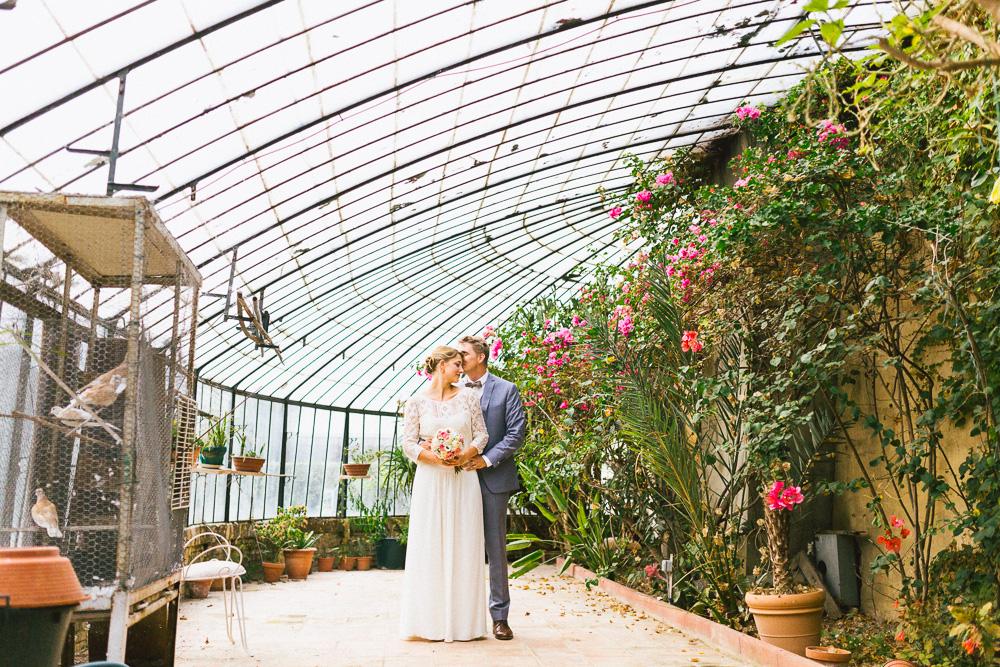 Mariage au Château Larroque dans le Gers / Johanna & Moritz