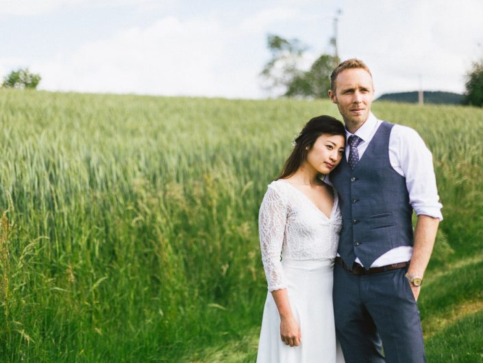 Un mariage intime dans le Beaujolais / Yoori & Nico