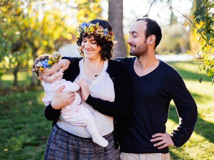 Séance d'automne en famille / Laura & Co