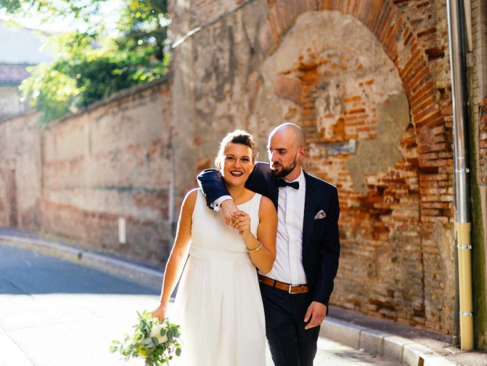 Glam & rock wedding in Toulouse / Charlotte & Lucien