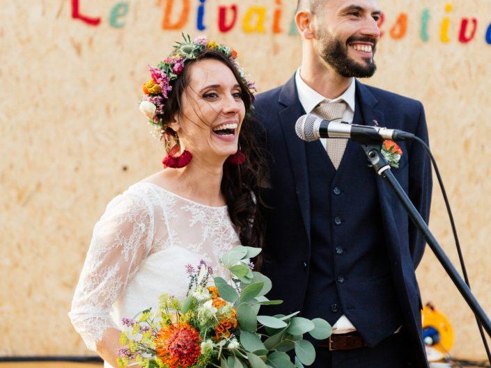 Festival wedding / Elodie & Sylvain