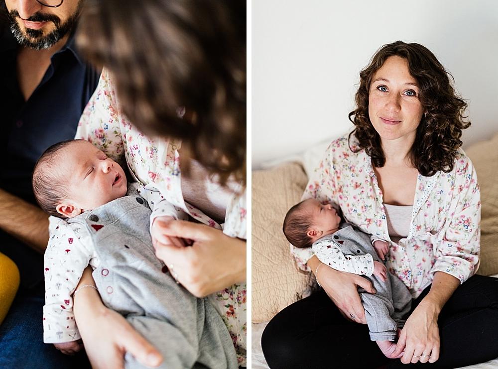 Séance naissance Sacha, Alison, Guillaume et Line - Verdun-sur-Garonne-35